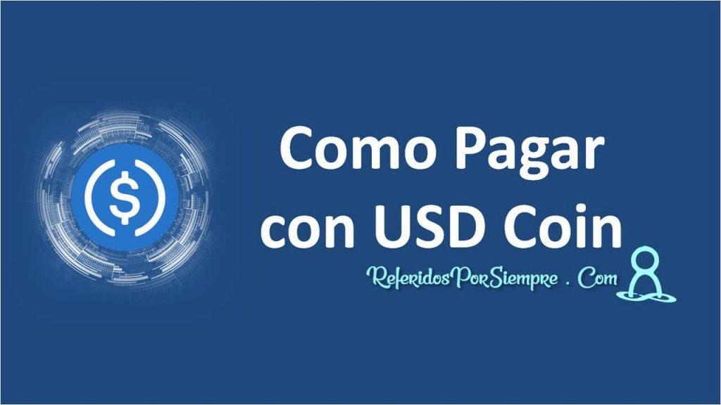 Como Pagar con USD Coin