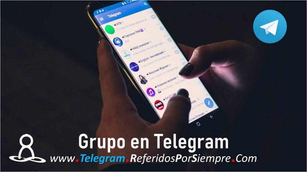 Grupo Telegram de Referidos Por Siempre
